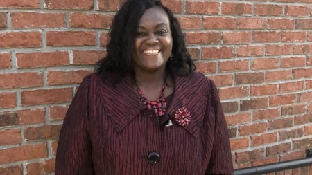 Olivia Pearson, the first black woman to be elected to the Douglas City Commission