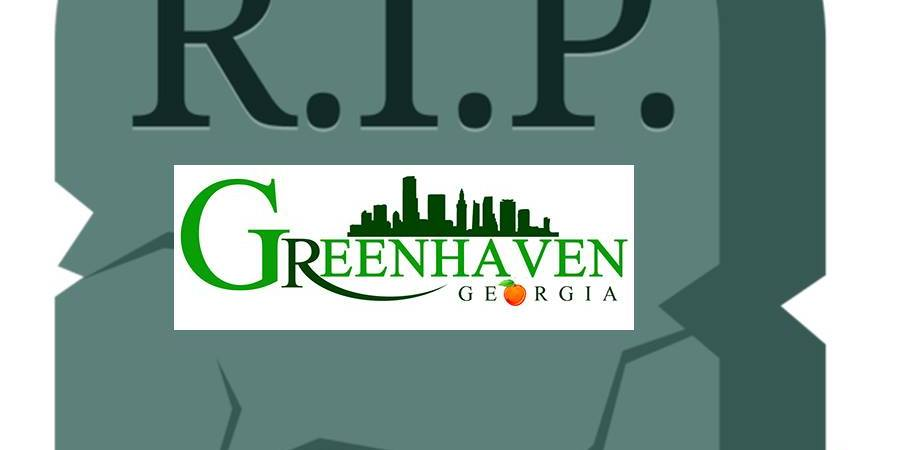 HB 644 Greenhaven did not make Crossover Day 2018 in the Georgia Legislature