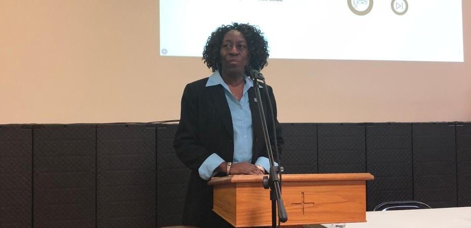 Sandy Johnson DeKalb NAACP and Greenhaven