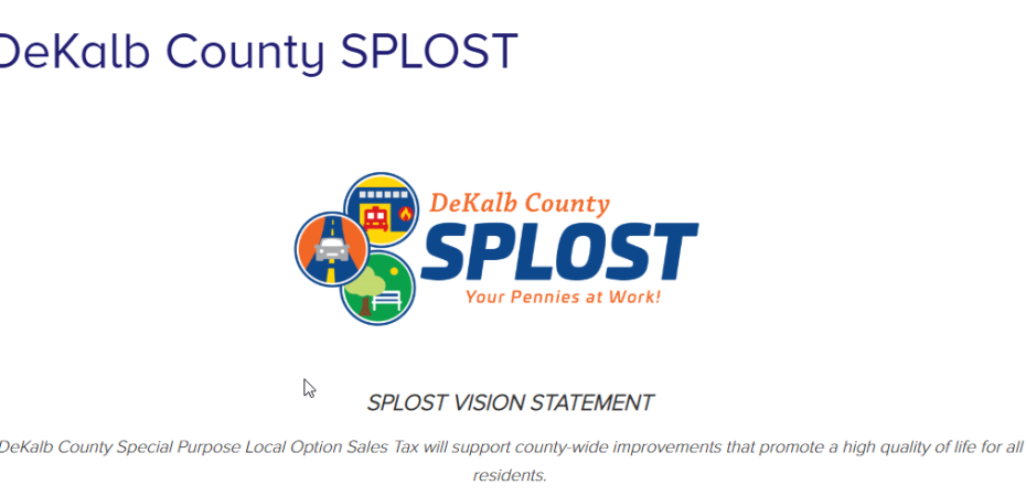 The DeKalb County SPLOST (Special Purpose Local Option Sales Tax) Greenhaven will not receive these funds if approved