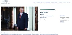 Greenhaven & Vista Grove Lobbyist Brad Carver