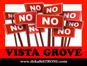 No Vista Grove DeKalb Strong