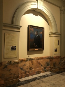 Martin Luther King Jr. painting in the Georgia State Capitol