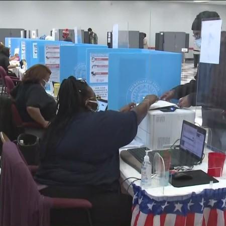 Voting in DeKalb County Ga